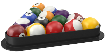 Balls for a pool table
