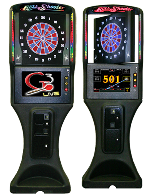 A CAP Amusement dart board
